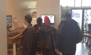 Merge Cafe internet kiosk