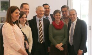 Lifewise CEO Moira Lawler met with Auckland mayoral candidates (