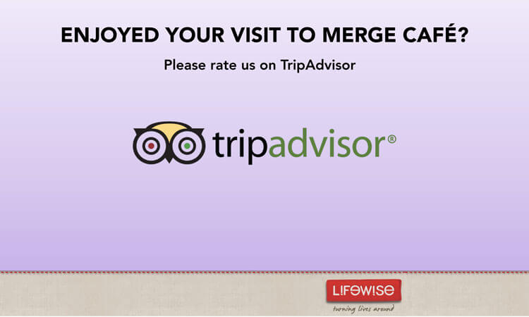 Please rate us on TripAdvisor