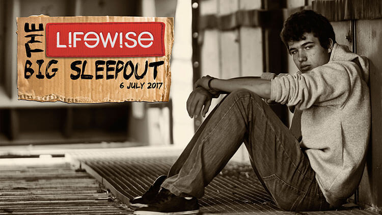 Lifewise Big Sleepout 2017 - Ending Youth Homelessness