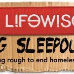 Lifewise Big Sleepout, homelessness, sleeping rough