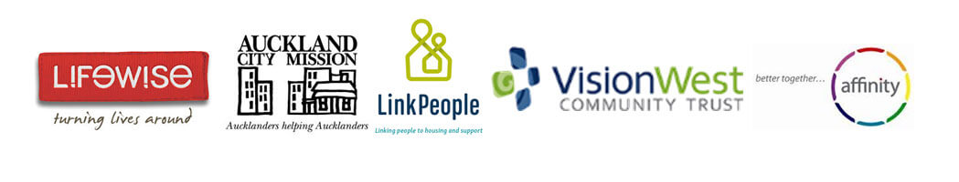 Housing First Auckland is a collective of five organisations which includes Lifewise, Auckland City Mission, LinkPeople, VisionWest, and Affinity Services.