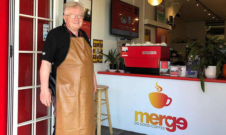 Mitch is one of Lifewise Merge Cafe's newest volunteers. Here he shares why Merge Café is his favourite.