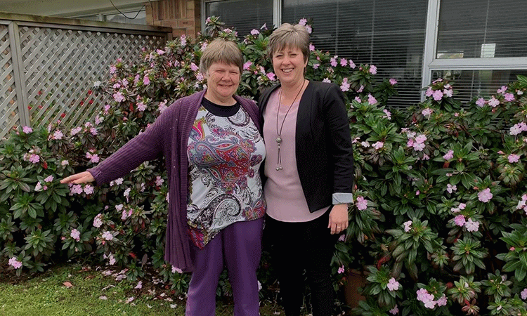 """People who might need disability support also live full lives,"" says Rev. Vicki Terrell (left), seen her with Michelle Smith, her Individualised Funding coach."